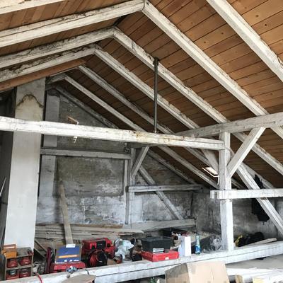 Schrannengasse 12 Dachboden vor Umbau
